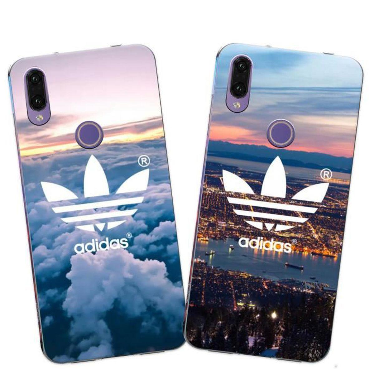 2 X Coque Huawei P20 Lite , Adidas Doux Souple Transparent TPU ...