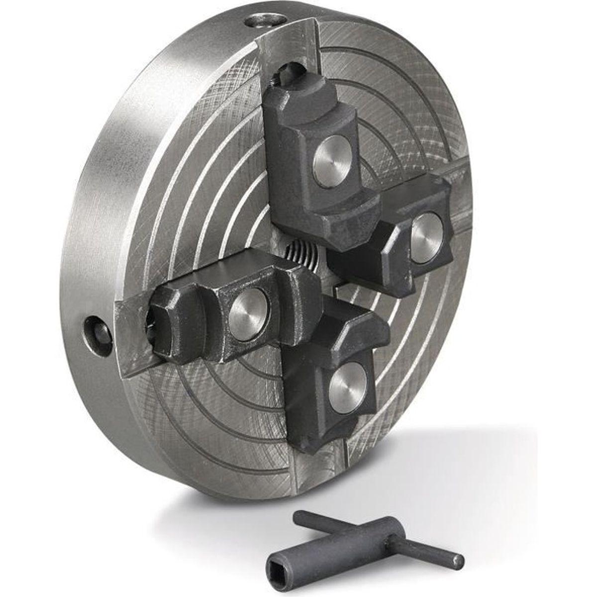 Tourne-mandrin m14 Mandrin de tour /à montage auto-centr/é r/éversible /à 4 mors de 50 mm