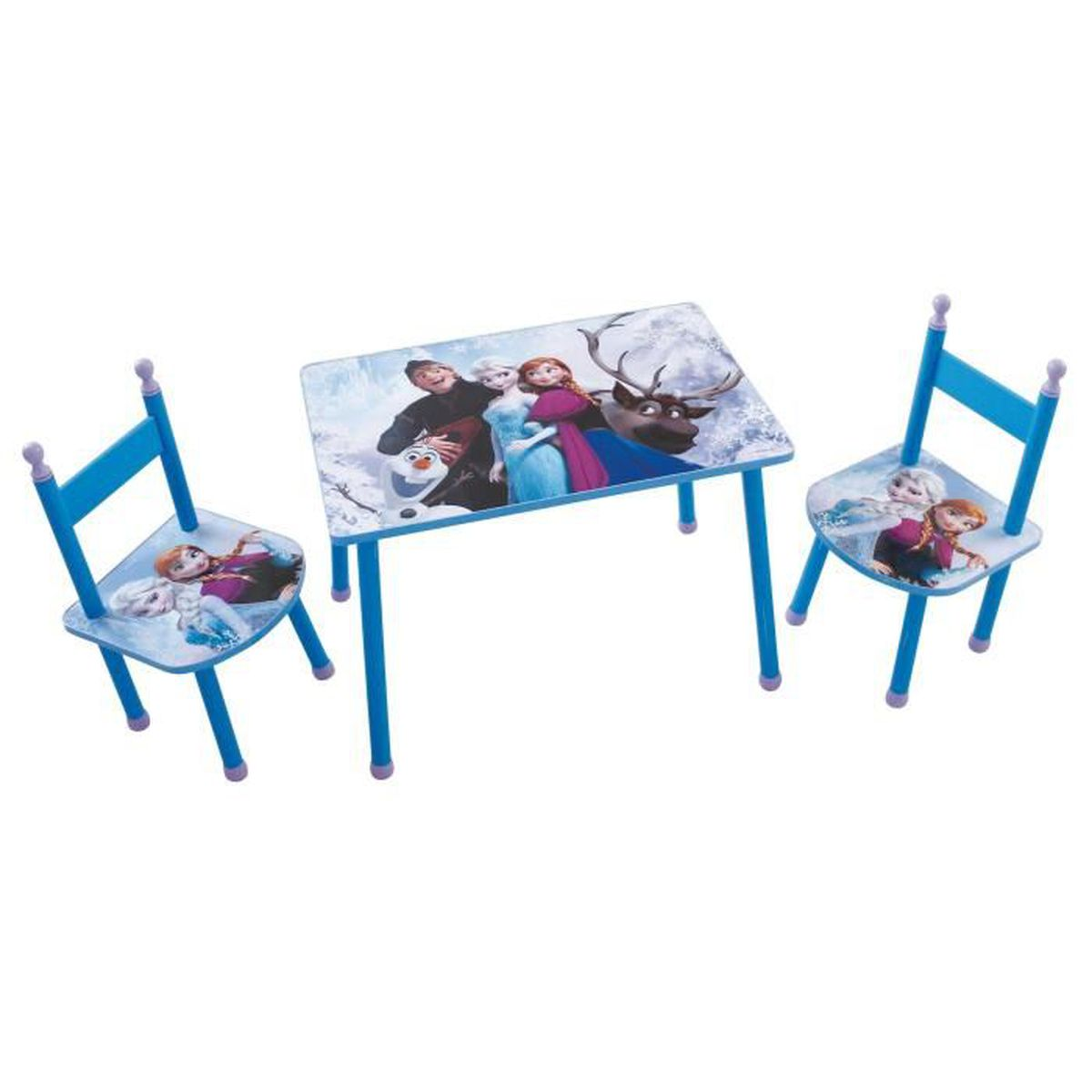 Ensemble table et chaises reine des neiges disney rouge for Ensemble table et chaise