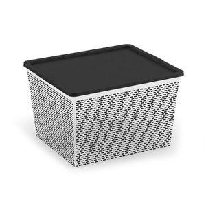 BOITE DE RANGEMENT ABM Boîte de rangement C box Cube - 27 L - Décor E