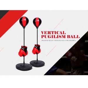 SAC DE FRAPPE Punching Ball - Avec Gants de Boxe et Pompe 70cm ~
