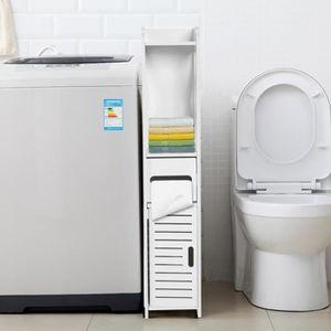 COLONNE - ARMOIRE SDB Meuble Colonne de Salle de Bain Armoire Toilette H
