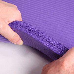 TAPIS DE SOL FITNESS 15mm épais tapis de yoga durable Antidérapant exer