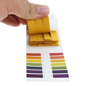 Jenor 100 bandes de papier indicateur de pH et dacide alcalin pour eau litmus salive