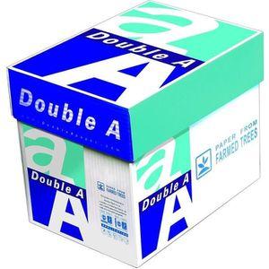 PAPIER IMPRIMANTE Ramette papier A4 Double A 80g 500 feuilles lot 5