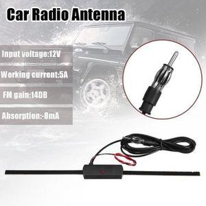 ANTENNE AUTO-MOTO Universel Voiture Antenne Radio Amplifier Signal F