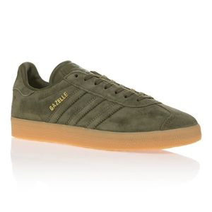 BASKET ADIDAS ORIGINALS Baskets Gazelle 91 - Femme - Vert