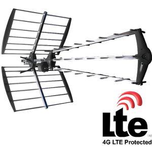 ANTENNE RATEAU Antenne Trinappe UHF 27 éléments avec filtre LTE