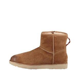 BOTTINE Boots Ugg CM ZIP WATERPROOF (Camel) - CLASSIC-MINI