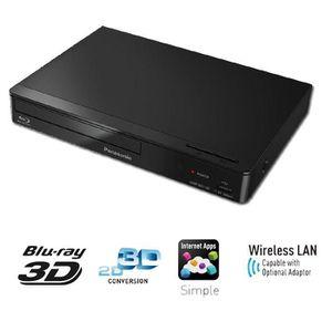 LECTEUR BLU-RAY PANASONIC DMP-BDT165  Lecteur Blu-Ray 3D WiFi Read