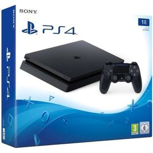 CONSOLE PS4 Console Playstation 4 Ps4 1To Noir Chassis D Slim