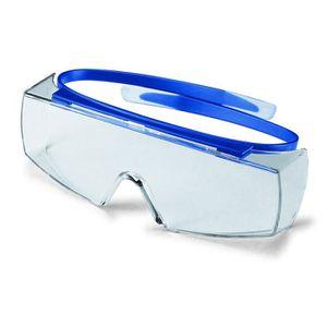 LUNETTE - VISIÈRE CHANTIER Sur-Lunettes de Protection UV 2-1 2 Couleur - B…