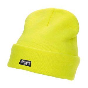BONNET - CAGOULE Bonnet haute visibilité sécurité - CAP402 jaune fl