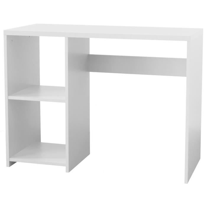 box bureau enfant contemporain m lamin blanc l 100 cm achat vente bureau box bureau blanc. Black Bedroom Furniture Sets. Home Design Ideas