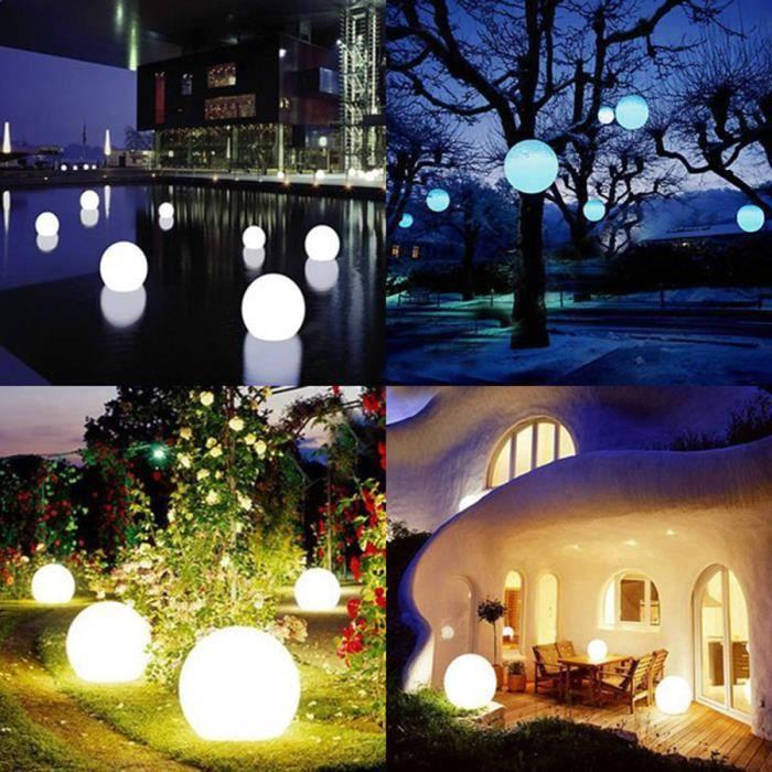 Flatball, lampe led flottante 20cm x 20cm x 20cm rechargeable + Télécommande