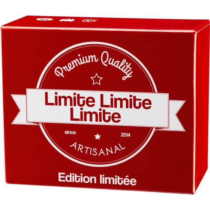 LIMITE LIMITE LIMITE - 25005 - Cette extension de 300 cartes peut être utilisée sans le jeu de base Limite Limite.