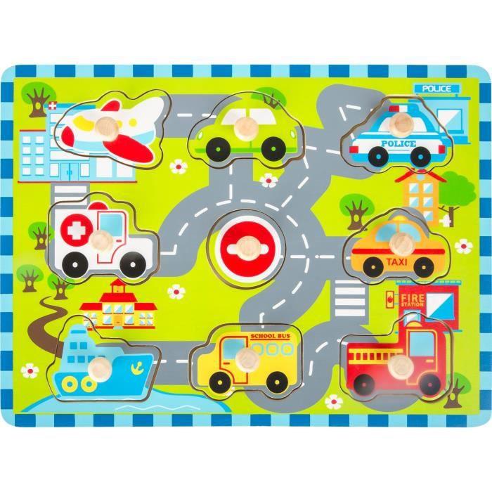 Puzzle à poser -Circulation de ville