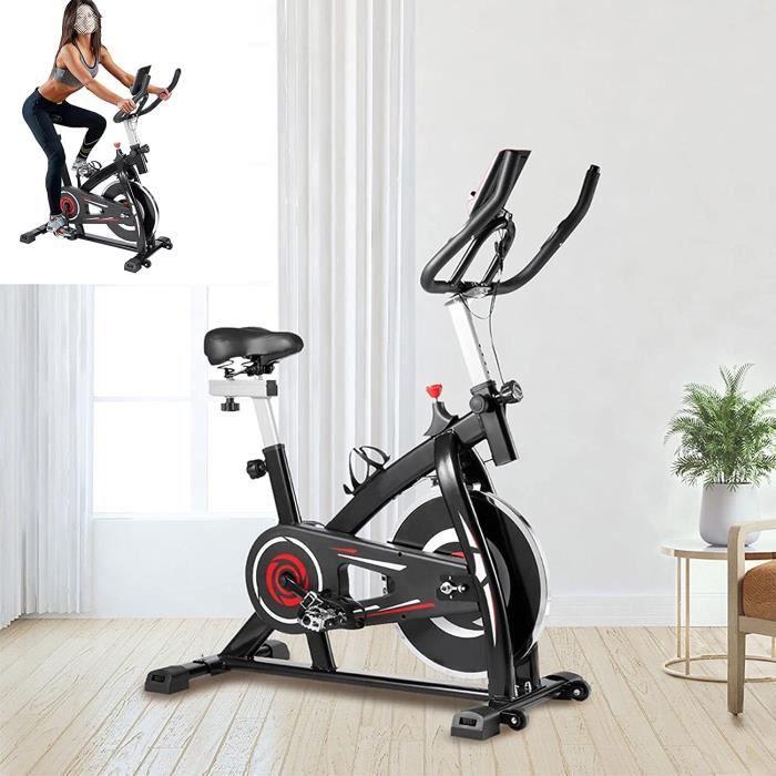 Velo d'appartements Avec entraînement par courroie silencieux Biking velo Détecteurs de pouls manuels Velod appartement Capacité173