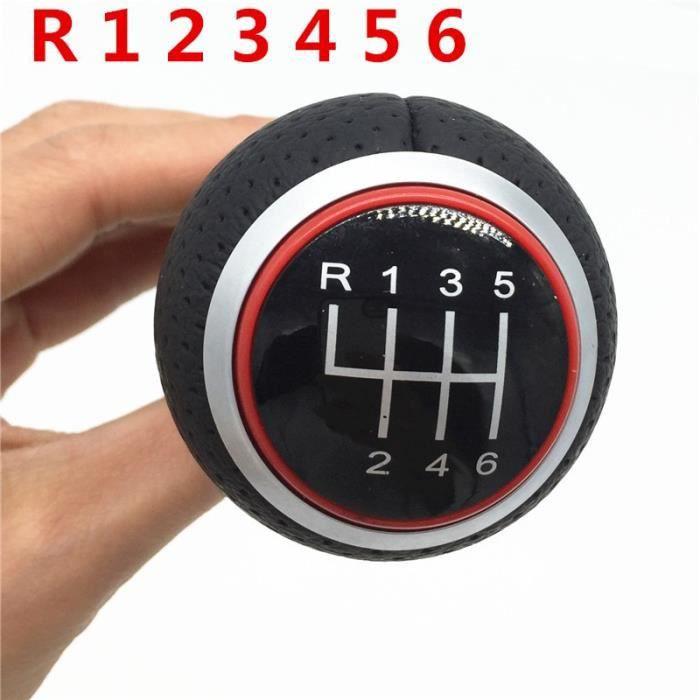 Red R123456 -Levier de changement de vitesse 12mm 5-6, pour Audi A4 B6 B7 B8 A6 S4 8K A5 8T Q5 8R S Line Ibiza 6J Seat Leon Mk1 Pass