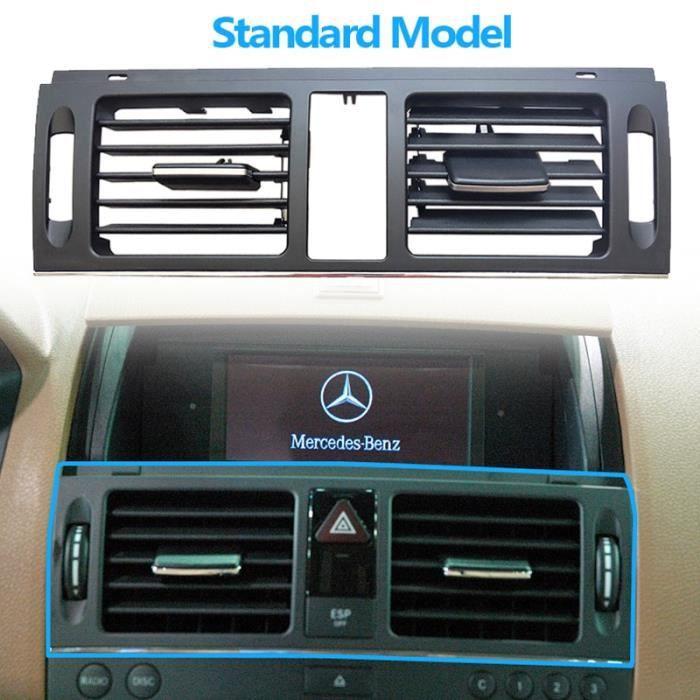 Filtres à air,RHD Grille de ventilation pour climatiseur de tableau de bord, pour Mercedes Benz W204 classe - Type Central Standard