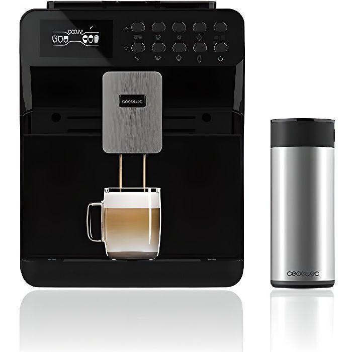 Cecotec Machine à café Super-Automatique Power Matic-ccino 7000. Réservoir de Lait , Écran Digital, Café Personnalisable , Technolog
