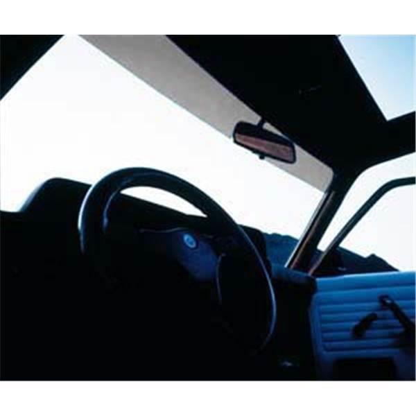 Bande pare - soleil FOLIATEC avec protection thermique noir foncé 15 x 152 cm
