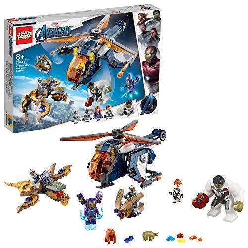 LEGO® Marvel Super Heroes™ - L'hélicoptère des Avengers, Jouet Marvel Enfant 8 Ans Et Plus, 482 Pièces - 76144 76144