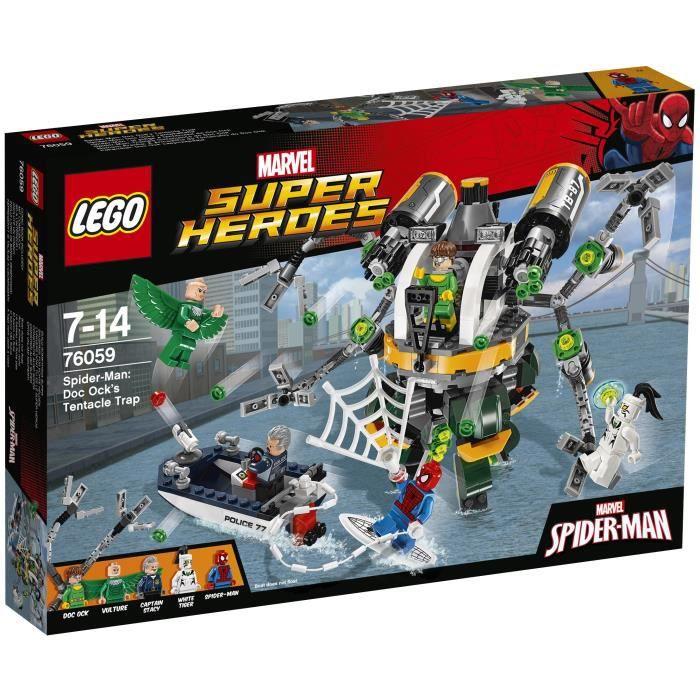 LEGO® Marvel Super Heroes 76059 - Spider-Man : Le Piège à Tentacules de Doc Ock