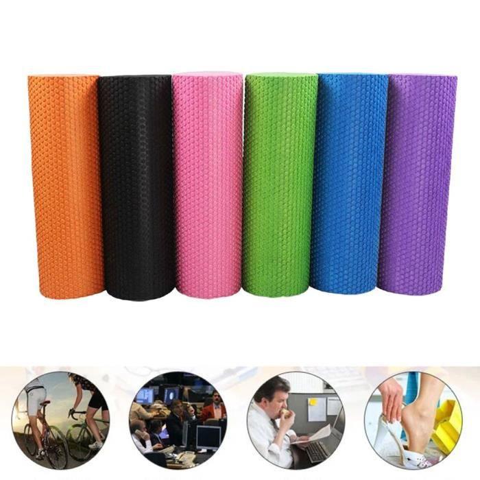 1Pcs Rouleau Massage Mousse Colonne Pilates Yoga Fitness Sport Physio GYM 30x13cm