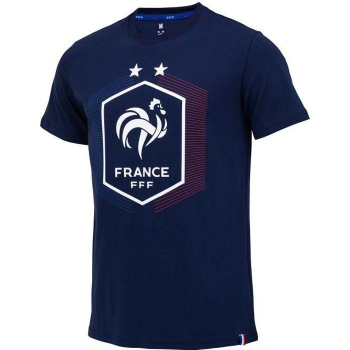 T-shirt FFF - Collection officielle EQUIPE DE FRANCE - Homme - Marine