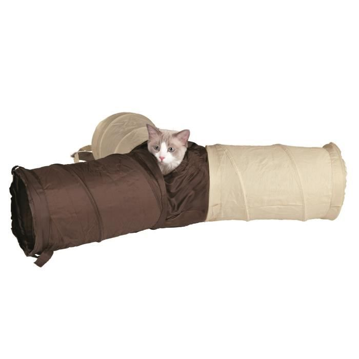 TRIXIE Tunnel de jeu nylon - Pour chat