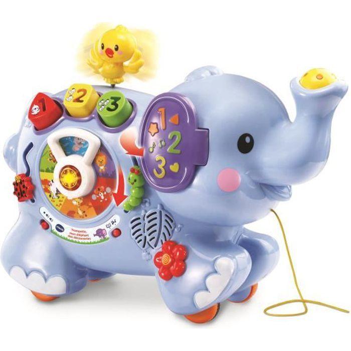 VTech Baby - Trompette, mon Eléphant des découvertes