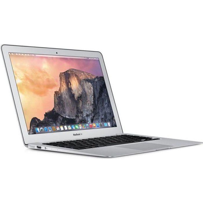 ORDINATEUR PORTABLE Apple Macbook Air 13 pouces 1,6GHz Intel Core I5 4