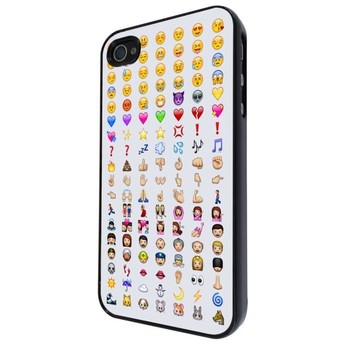 coque smiley iphone 4
