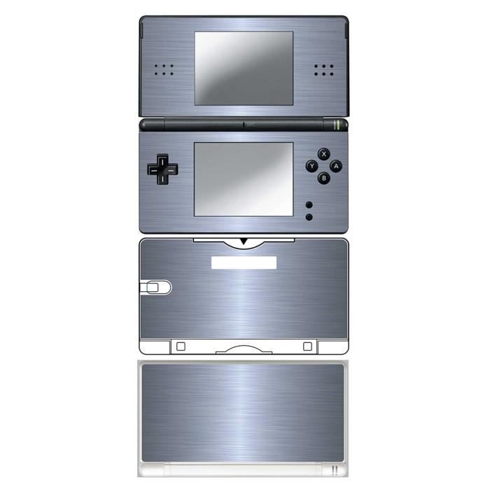 skin stickers pour nintendo ds lite sticker aluminium prix pas cher cdiscount. Black Bedroom Furniture Sets. Home Design Ideas