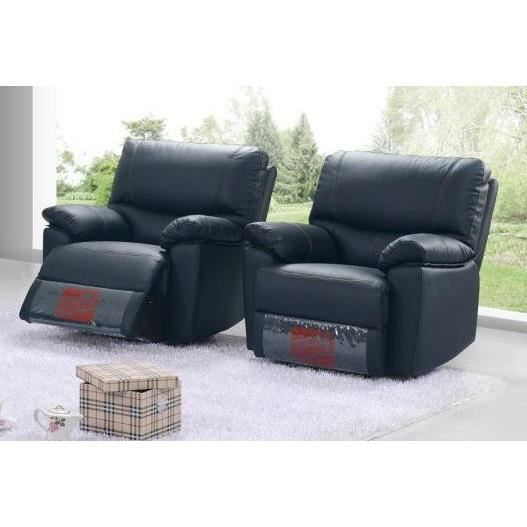 fauteuil relax en cuir irlande l 96 x p 93 x h 100 cm. Black Bedroom Furniture Sets. Home Design Ideas