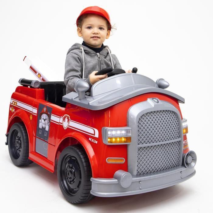 VOITURE ELECTRIQUE ENFANT PAT PATROUILLE Voiture Electrique Camion de Pompie