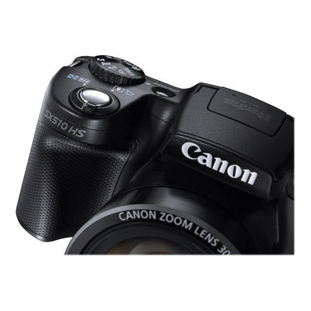 canon sx510 hs appareil photo num rique compact achat vente appareil photo compact cdiscount. Black Bedroom Furniture Sets. Home Design Ideas