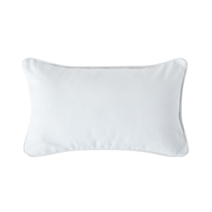 coussin d houssable blanc 30 x 50 cm achat vente. Black Bedroom Furniture Sets. Home Design Ideas