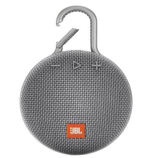 ENCEINTE NOMADE JBL CLIP 3 Grise Enceinte Bluetooth - Waterproof -