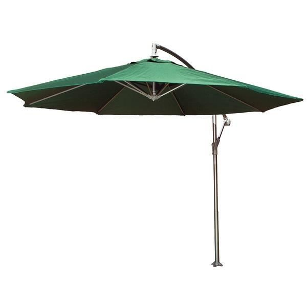 parasol excentr vert diam tre 3m achat vente parasol parasol excentr vert 3m cdiscount. Black Bedroom Furniture Sets. Home Design Ideas