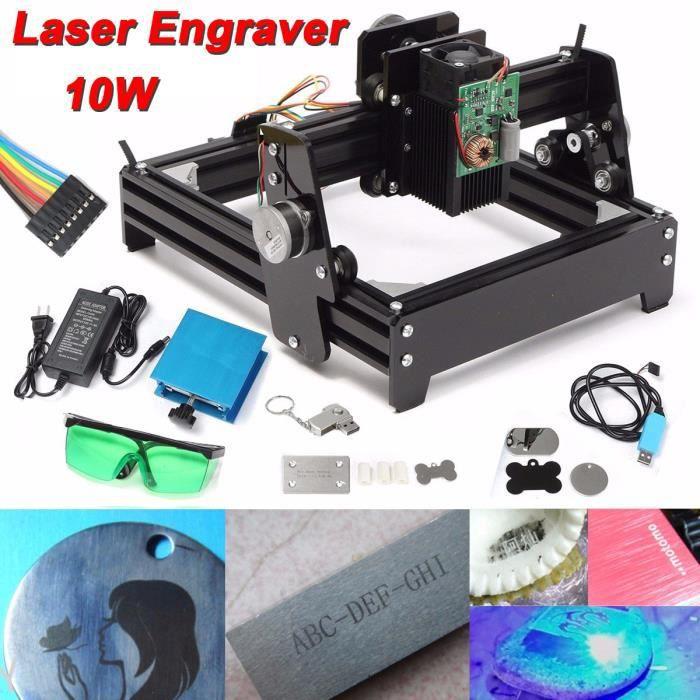 KIT GRAVURE TEMPSA 10W DIY Laser Machine Gravure Graveur Métal