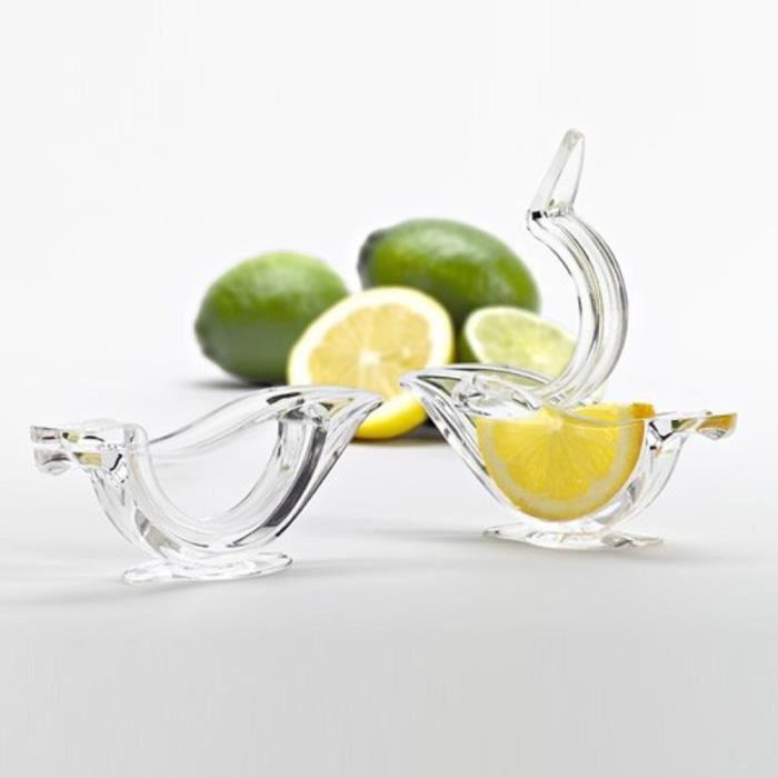 SAUCE FRAICHE - CITRON 8 x Presse Citron Table Usage Presse à Main Citron