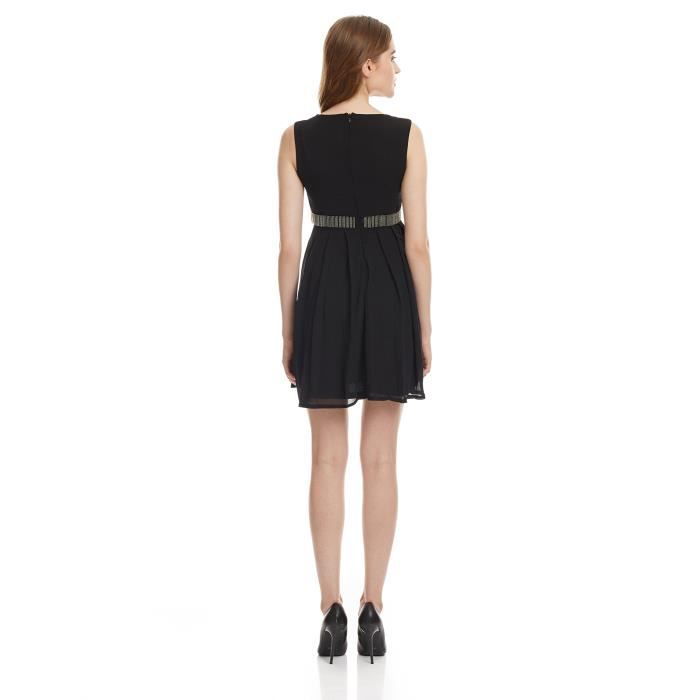 Womens Cotton Pleated Dress W8DVT Taille-40