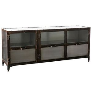 Buffet industriel metal achat vente pas cher for Miliboo buffet