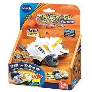 VTECH Switch and Go Dinos Turbo - Rox, le turbo Tricératops
