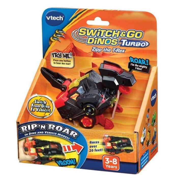 VTECH Switch and Go Dinos Turbo - Lex, le turbo T.Rex