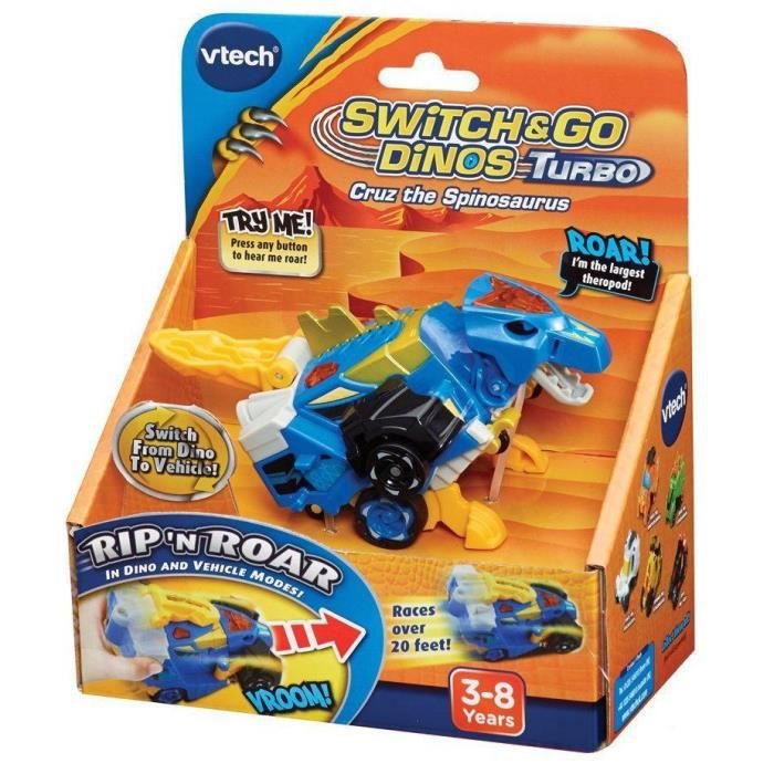 VTECH Switch and Go Dinos Turbo - Ivor , le turbo Spinosaure