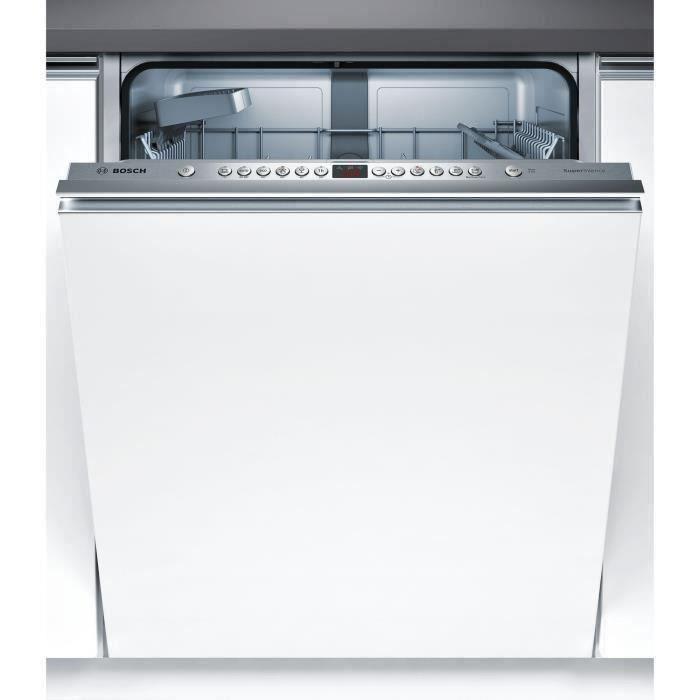 Lave-vaisselle encastrable BOSCH SMV46IX05E - 13 couverts - Moteur induction - Largeur 60 cm - Classe A++ - 42 dB