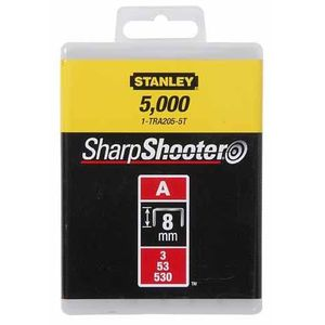 STANLEY Agrafes 8mm type A 1000 pi?ces